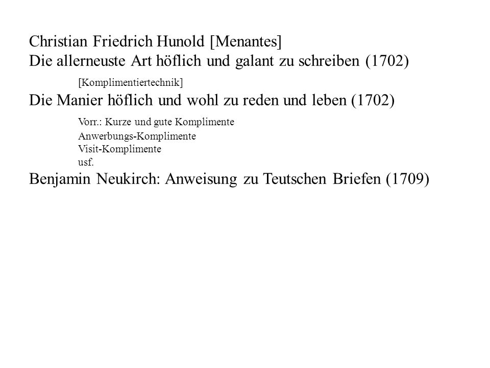 Christian Friedrich Hunold [Menantes]